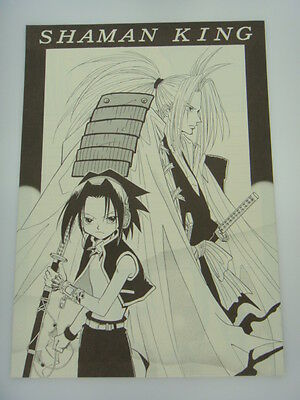 Japanese Shaman King Doujin Fanart Double Sided Letter Paper Writing Paper H009