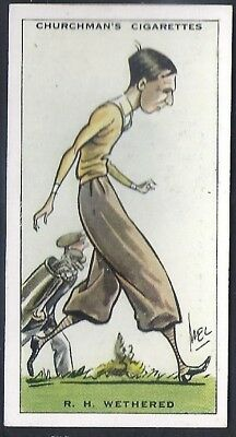 Churchman-Prominent Golf Ers (Standard Size)-#46- Roger Wethered