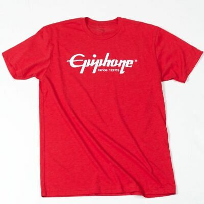 Epiphone Logo T-Shirt (Red), Medium