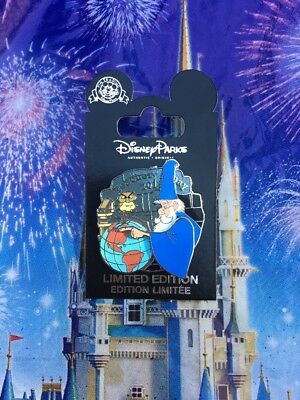 Disney Parks Teachers Day 2018 Merlin Pin Limited Edition In Hand