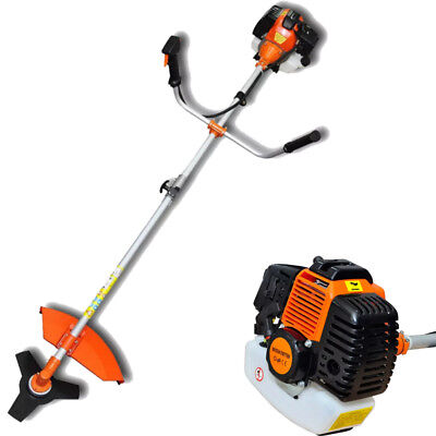 Garden Brush Cutter Grass Trimmer Two-stroke Air-cooled 52 cc 2,2 kW Orange New