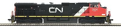 MTH HO 80-2290-1 CANADIAN NATIONAL DASH 9 DC, DCC and PROTOSOUND 3.0 RD# 2604