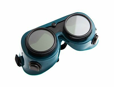 Forney 55300 Goggles, Oxygen-Acetylene, 50MM Round Lens, Shade-5