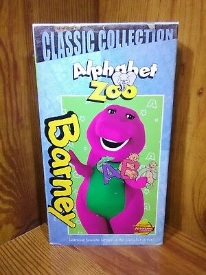 Barney Barneys Alphabet Zoo Vhs 2000 Classic Collection