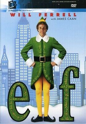 Elf (DVD, 2004, 2-Disc Set) Authentic US release Scratch Free