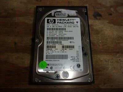 286713-B22 HP 36.4GB 10K U320 UNIVERSAL HDD 80 PIN // Renewed