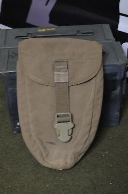 US Military Surplus Desert Tan Beige Molle E-Tool Entrenching Shovel Cover Pouch