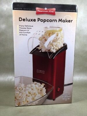 Deluxe Popcorn Maker by American Era New In Box w/ Butter Warmer