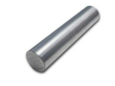 "1"" Diameter 304 Stainless Steel Round Rod - 6"" Length - Lathe Bar Stock"