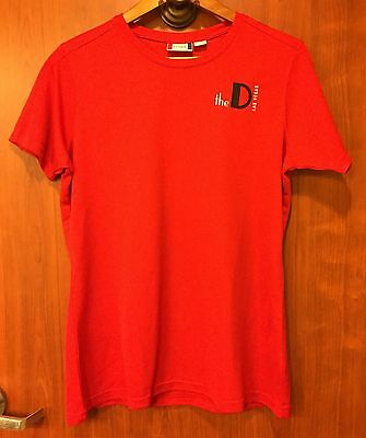 ☀The D Las Vegas Casino T Shirt☀Womans XL Polyester Clique Detroit