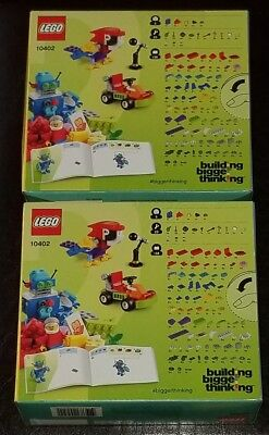 2 PACK LOT of LEGO Classic Fun Future 10402 Building Kit (186 Piece)