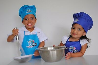 Kids Chef Hat & Apron Sets *Free Postage*