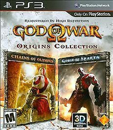 God of War: Origins Collection (Sony PlayStation 3, 2011)