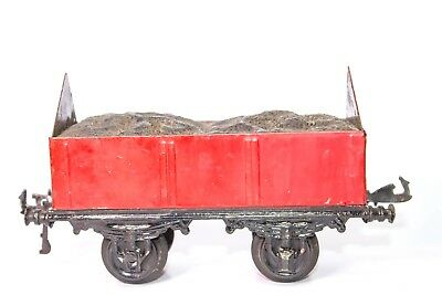 Vintage Pre-War 1-Gauge Bing Freight Coal Carrier