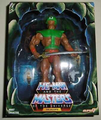 MOTU Masters Of The Universe Classics Filmation Tri-Klops 2.0 Super 7 New MOTUC