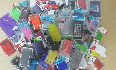 Wholesale Lot of 250 100 50 25 Cell Phone Cases for iPhone Samsung Motorola