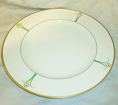 "Vintage Art Nouveau Lily Fine China LS Collection New York Wilhite 9"" Plate"
