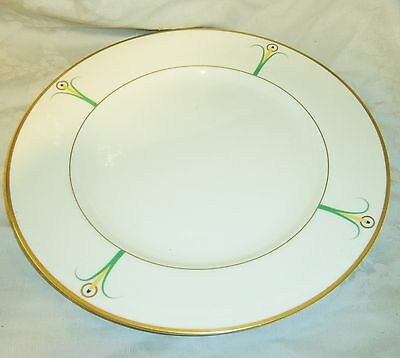 Vintage Art Nouveau Lily Fine China LS Collection New York Wilhite Charger Plate