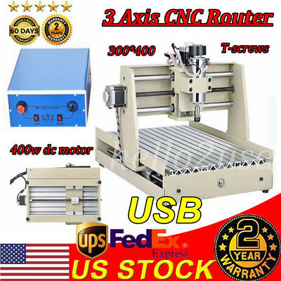 3 Axis Engraver Usb Cnc 3040 Router Engraving Drilling Milling Machine 3D Cutter