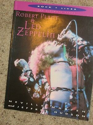 Robert Plant and Led Zeppelin - The Ultimate Story - Book