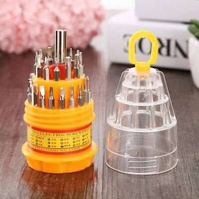 31-in-1 Screwdriver Set with Magnet Screwdriver Bits DIY Repair Kit Multitool E0