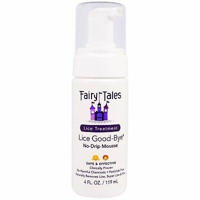 Fairy Tales Lice Good-Bye Non-Toxic, Pesticide Free Lice Removal Kit, 4 Fluid