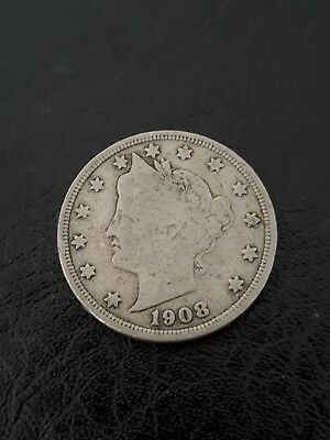 1908 nickel USA