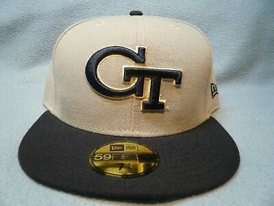 buy popular 618e5 6843e New Era 59fifty Georgia Tech Yellow Jackets Sz 7 1 2 BRAND NEW cap hat