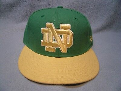 New Era 59fifty Notre Dame Fighting Irish Size 7 1/4 BRAND NEW cap hat ND 5950