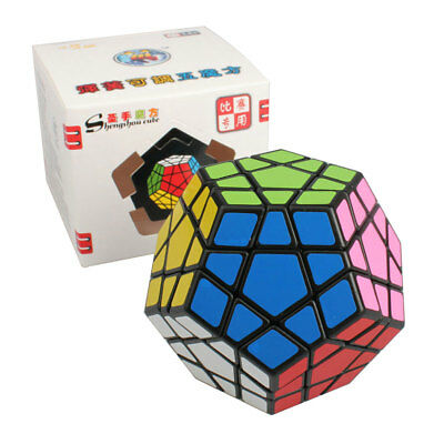 Shengshou Magic Speed Cube Professional Megaminx Dodecahedron Puzzles Game Toys