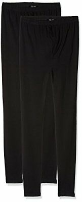 Nero Small New Look 2PP Viscose, Leggings Premaman Donna, , S (bjm)