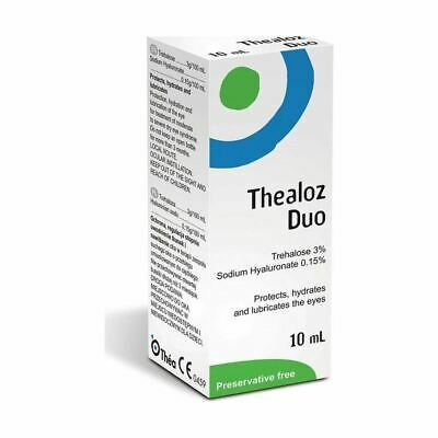 Thealoz Duo | Protects |Hydrates | Lubricates 10ml 1 2 3 6 12 Packs