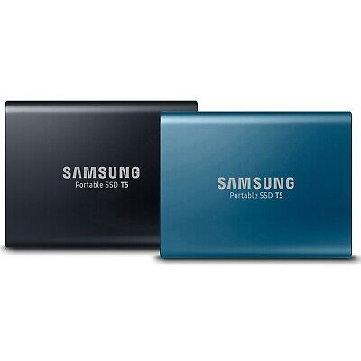 Samsung T5 250GB 500GB 1TB 2TB USB Type C Portable External Hard Drive HDD SSD