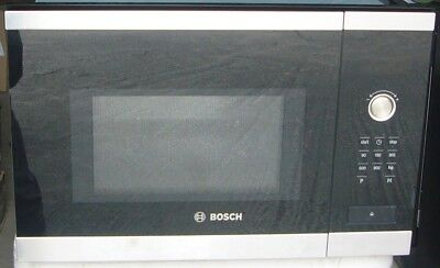 Bosch Hmt84m654b 25l Built In Microwave Oven Stainless Steel New Rrp 399