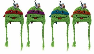 New - Kids Character Beanie Knitted - Ninja Turtle - Assorted Colours