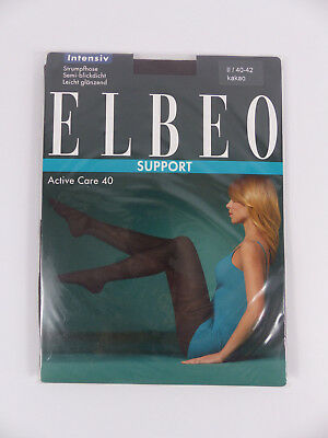 ELBEO SUPPORT - Collants de contention intensive, Taille 2 (40/42), Cacao
