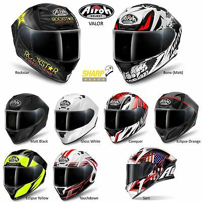 Airoh Valor Helmet Motorcycle Motorbike Bike Full Face ACU Pinlock Ready 5*Sharp