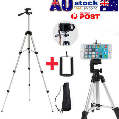 Universal Telescopic Camera Tripod Stand Holder Mount For Phone iPhone/Nikon DV