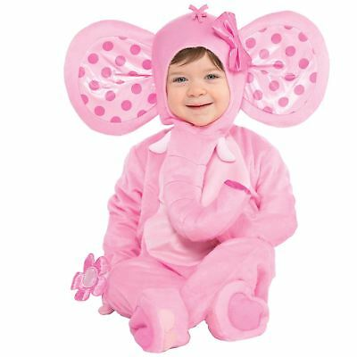 Baby Toddler Elephant Sweetie Fancy Dress Book Week Costume Outfit Jungle Zoo