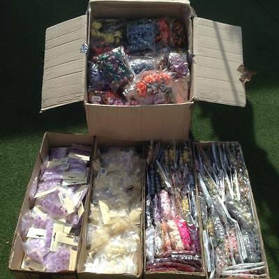 Job lot 20 bunches Paper Flowers, Roses, Embellishments, Wedding - UK seller