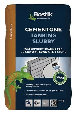 25Kg Bostik Cementone Tanking Slurry Waterproof Brick And Stone