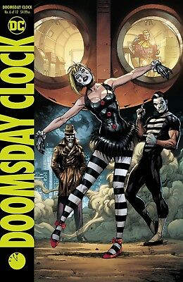 Doomsday Clock #6 (Of 12) Variant - Dc  - Presale - Release Date 18/07/18