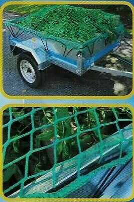 Heavy Duty Trailer Cargo Net 1.9m x 1.2m - Erde 163 193 - Pick Up Skip   #71203