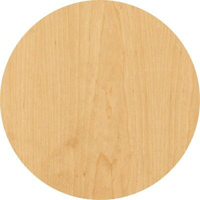 Circle Laser Cut Out Wood Shape Craft Supply - Unfinished