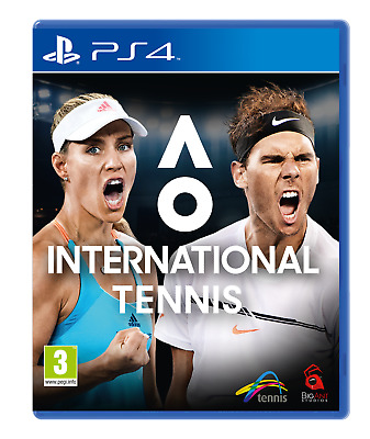 AO International Tennis PS4 Game | BRAND NEW SEALED | FAST & FREE POST