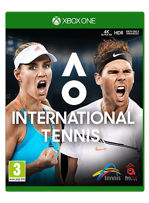 AO International Tennis Xbox One Game | BRAND NEW SEALED | FAST & FREE POST