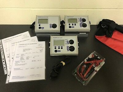 Megger Newlec Installation Test Kit - Loop, Rcd Ins Cont Testers - 17Th Edition