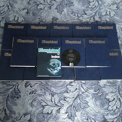 Complete Set Of The Unexplained Series/ Magazines And 14 Binders!
