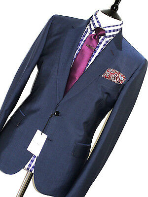 Bnwt Mens Paul Smith Soho Fit Mainline 2018 Edition Navy Green Suit 42R W36