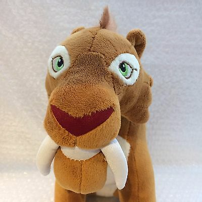 "Ice Age Collision Course Diego Soft Toy Plush 10"" Tall"